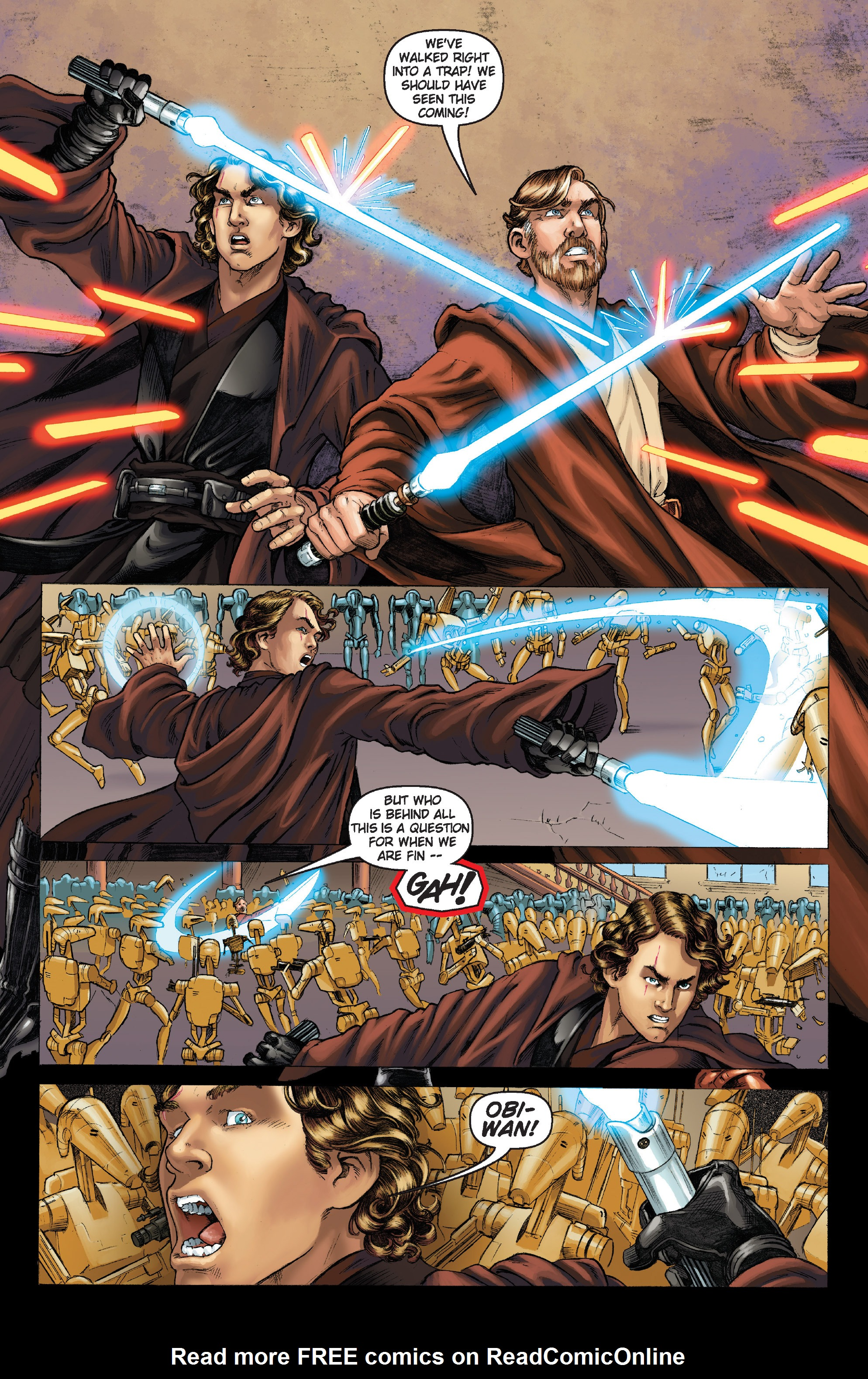 Read online Star Wars Omnibus comic -  Issue # Vol. 26 - 204