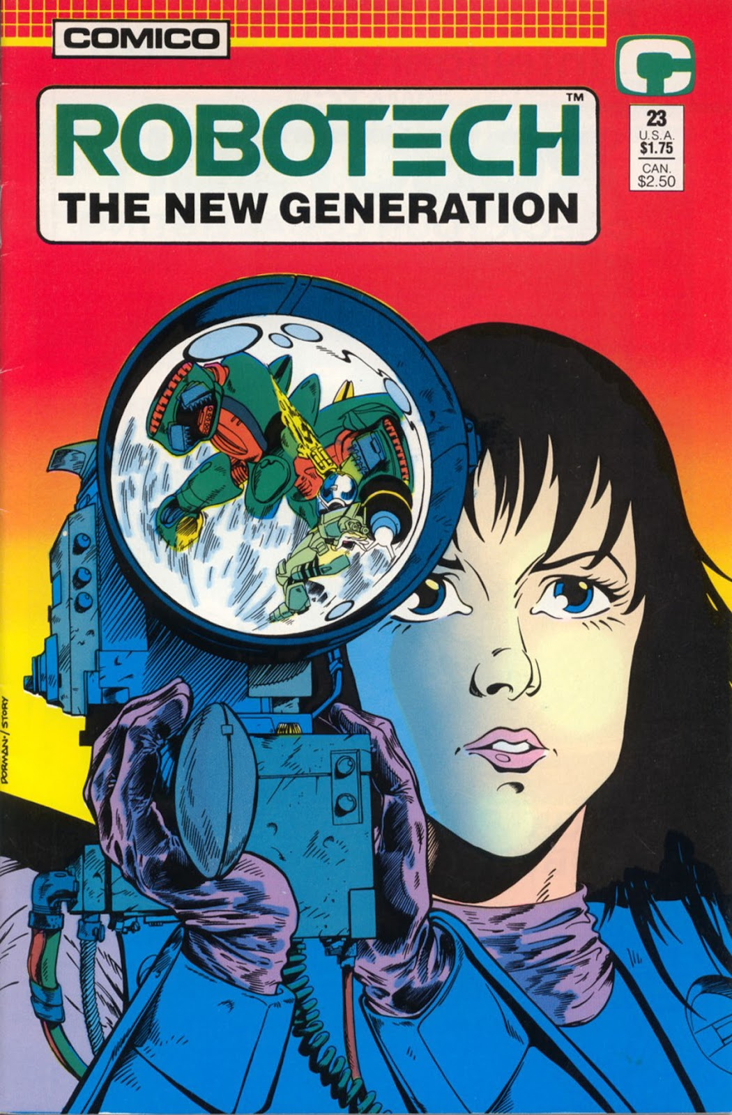 Robotech The New Generation issue 23 - Page 1