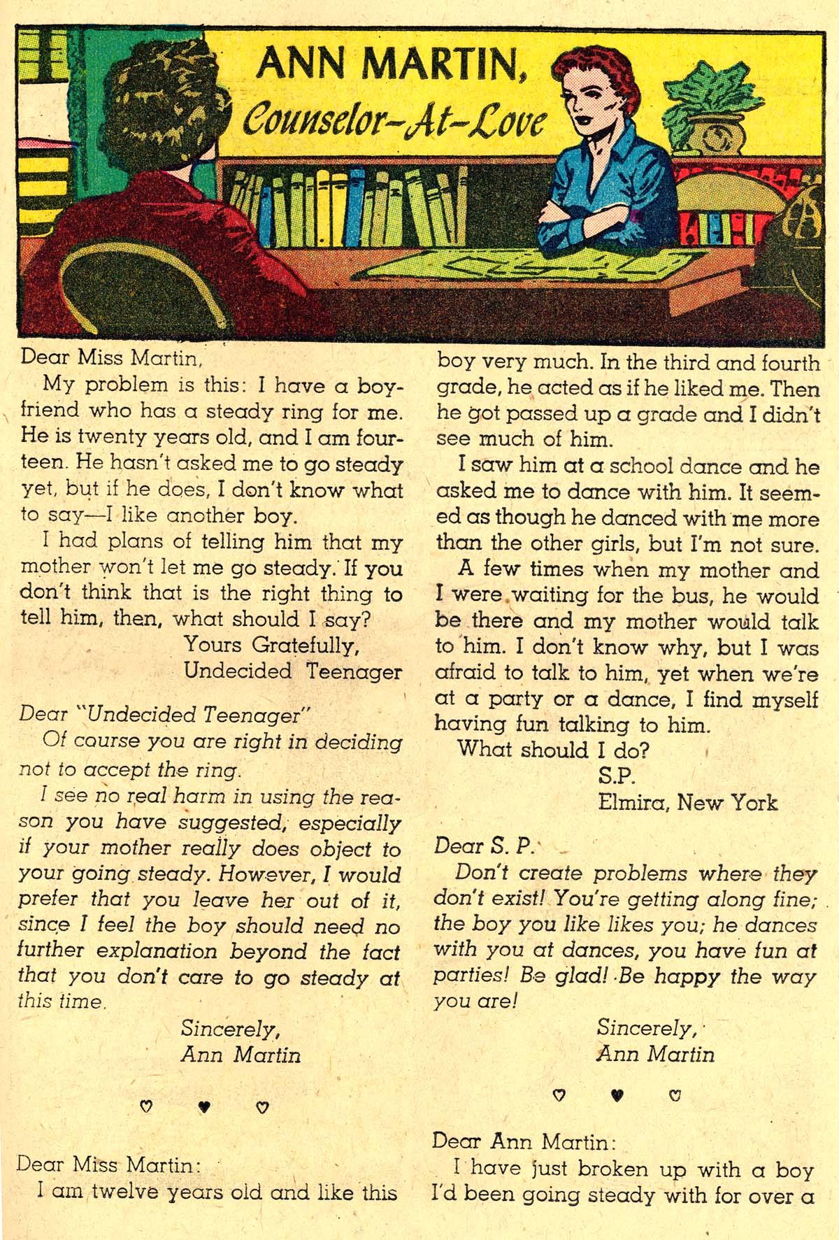 Read online Secret Hearts comic -  Issue #57 - 25