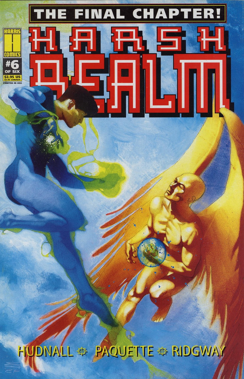 Read online Harsh Realm comic -  Issue #6 - 1