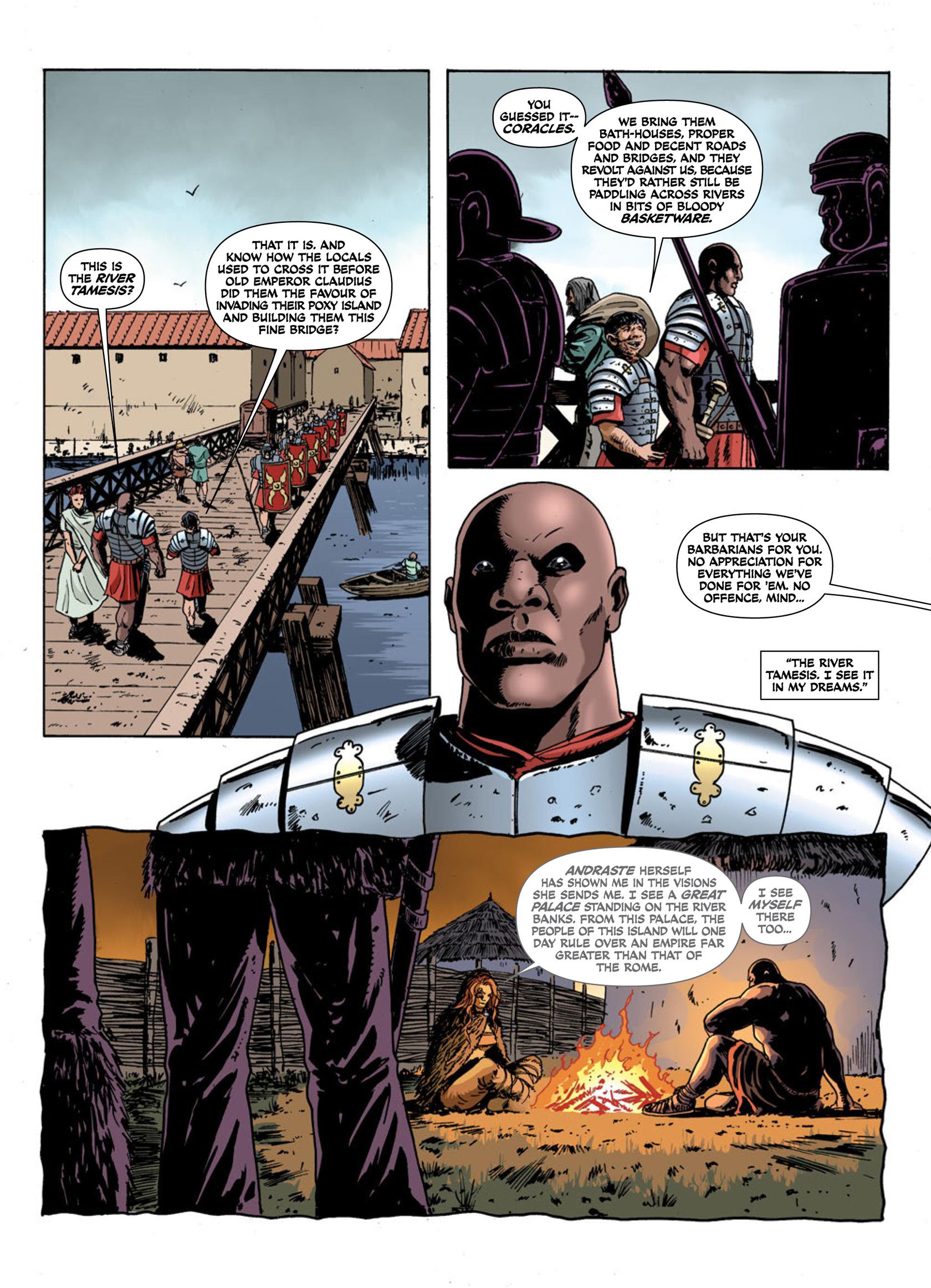 Read online Aquila comic -  Issue #1 - 30