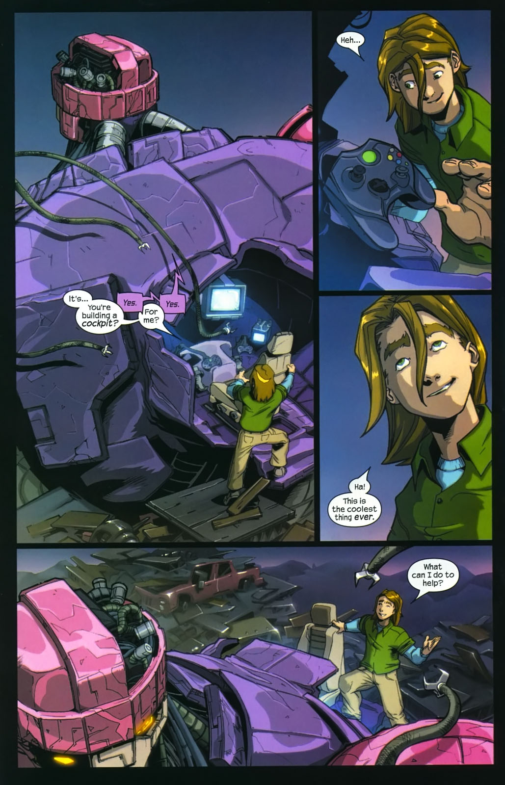 Read online Sentinel (2006) comic -  Issue #4 - 5