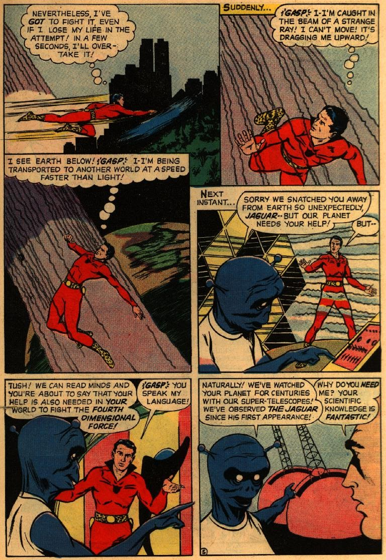 Adventures of the Jaguar issue 3 - Page 7