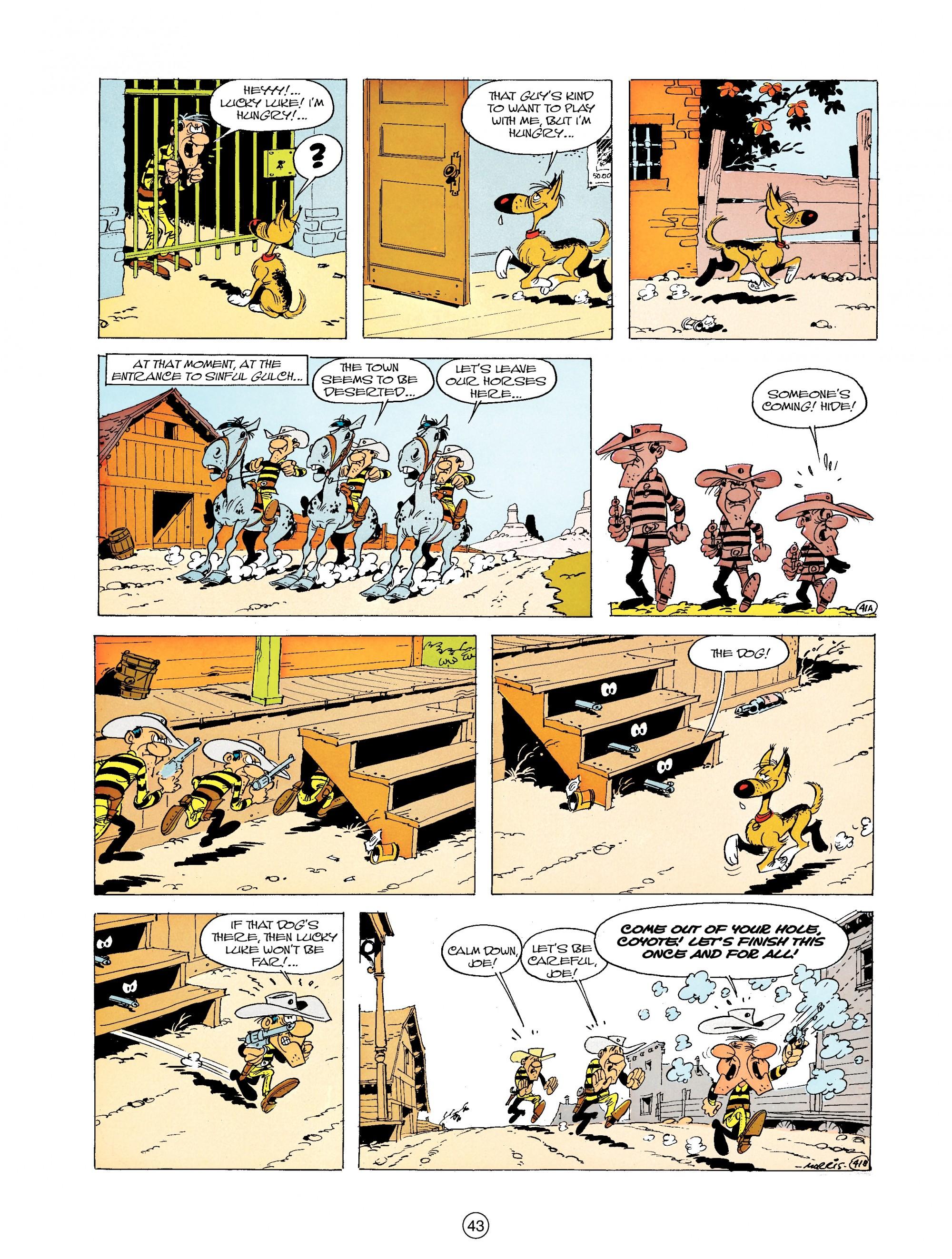 Read online A Lucky Luke Adventure comic -  Issue #19 - 43