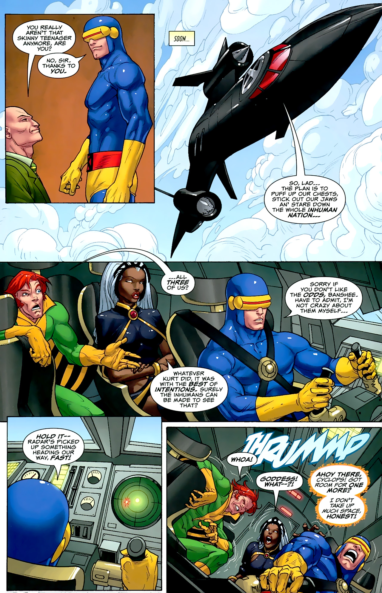 Read online Uncanny X-Men: First Class comic -  Issue #2 - 7