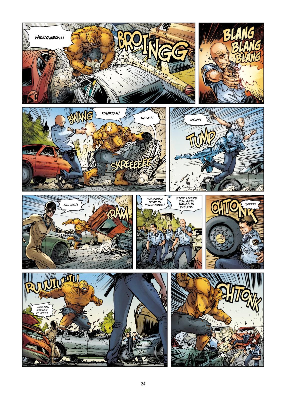 Read online Vigilantes comic -  Issue #4 - 24