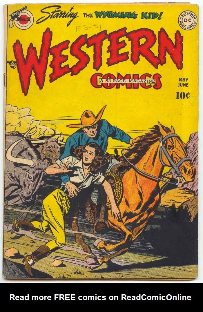 Western Comics 3 Page 1