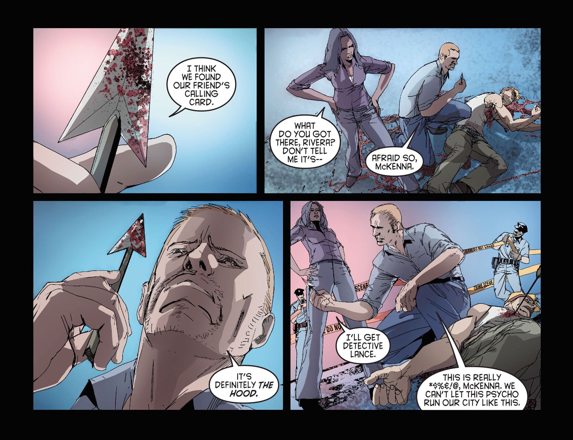 Read online Arrow [II] comic -  Issue #27 - 3