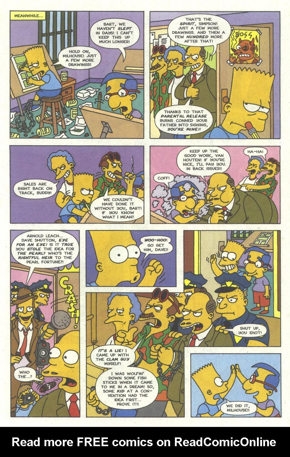 Read online Simpsons Comics comic -  Issue #13 - 22