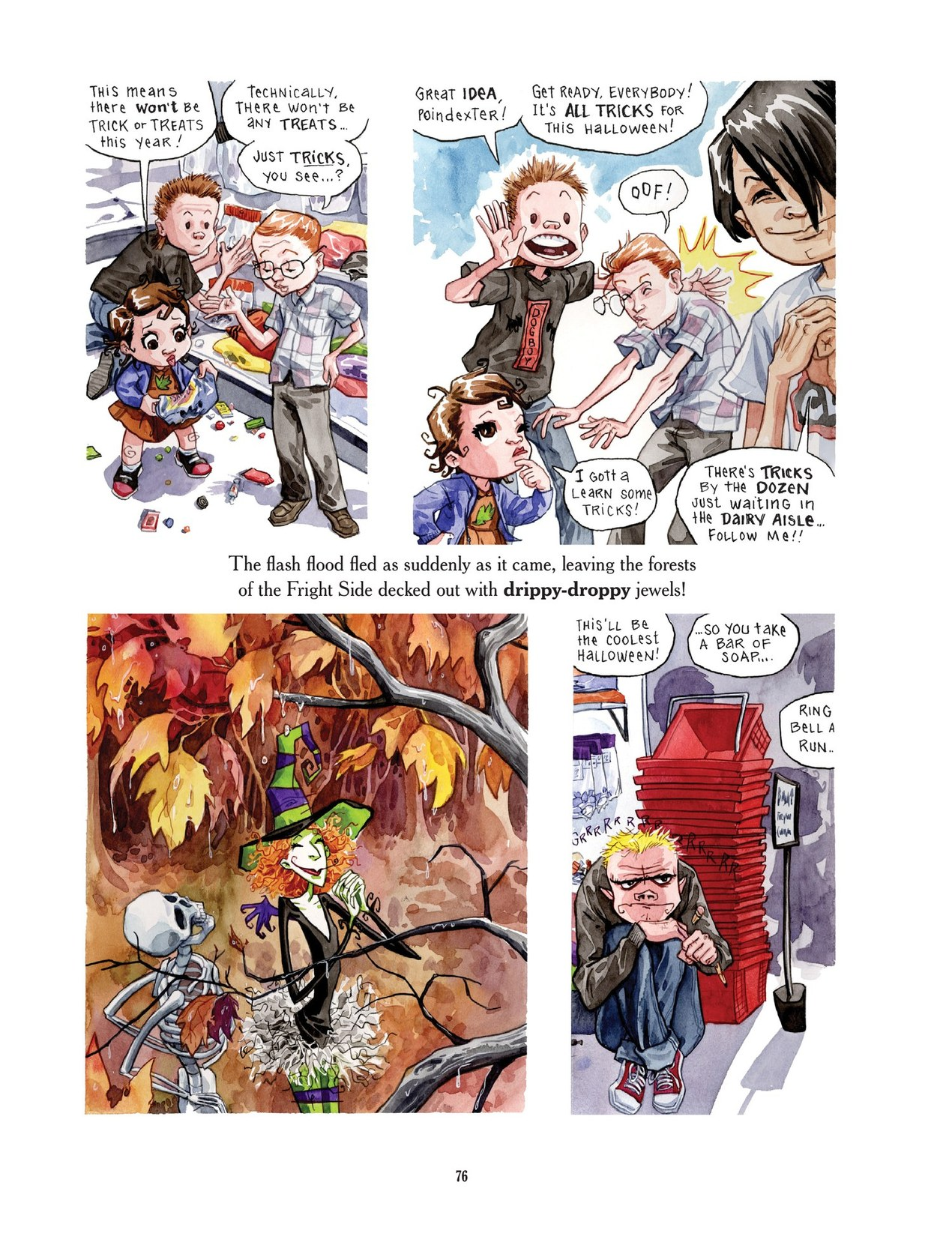 Read online Scary Godmother comic -  Issue # TPB - 76