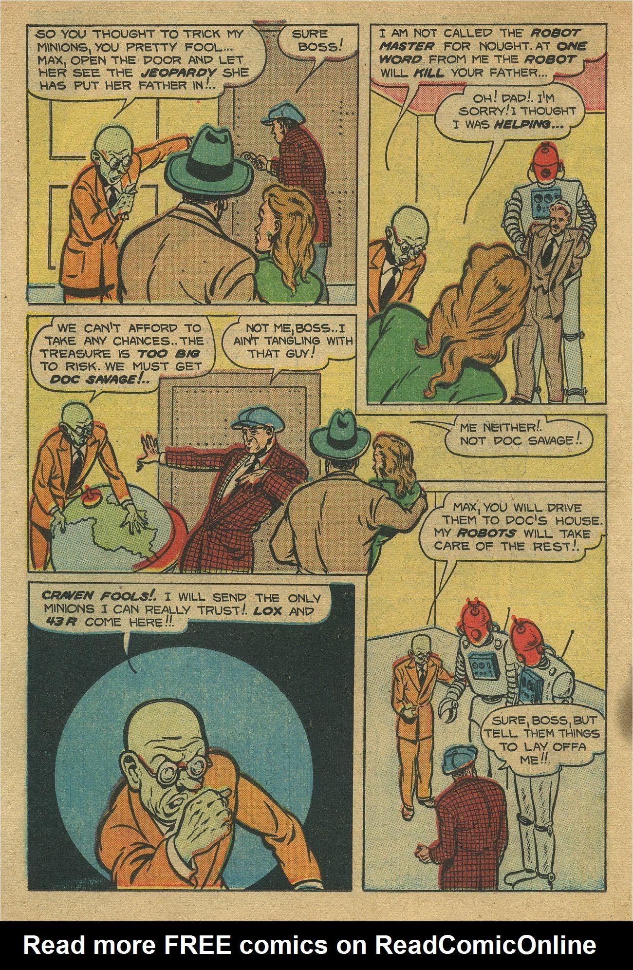Read online Shadow Comics comic -  Issue #93 - 25