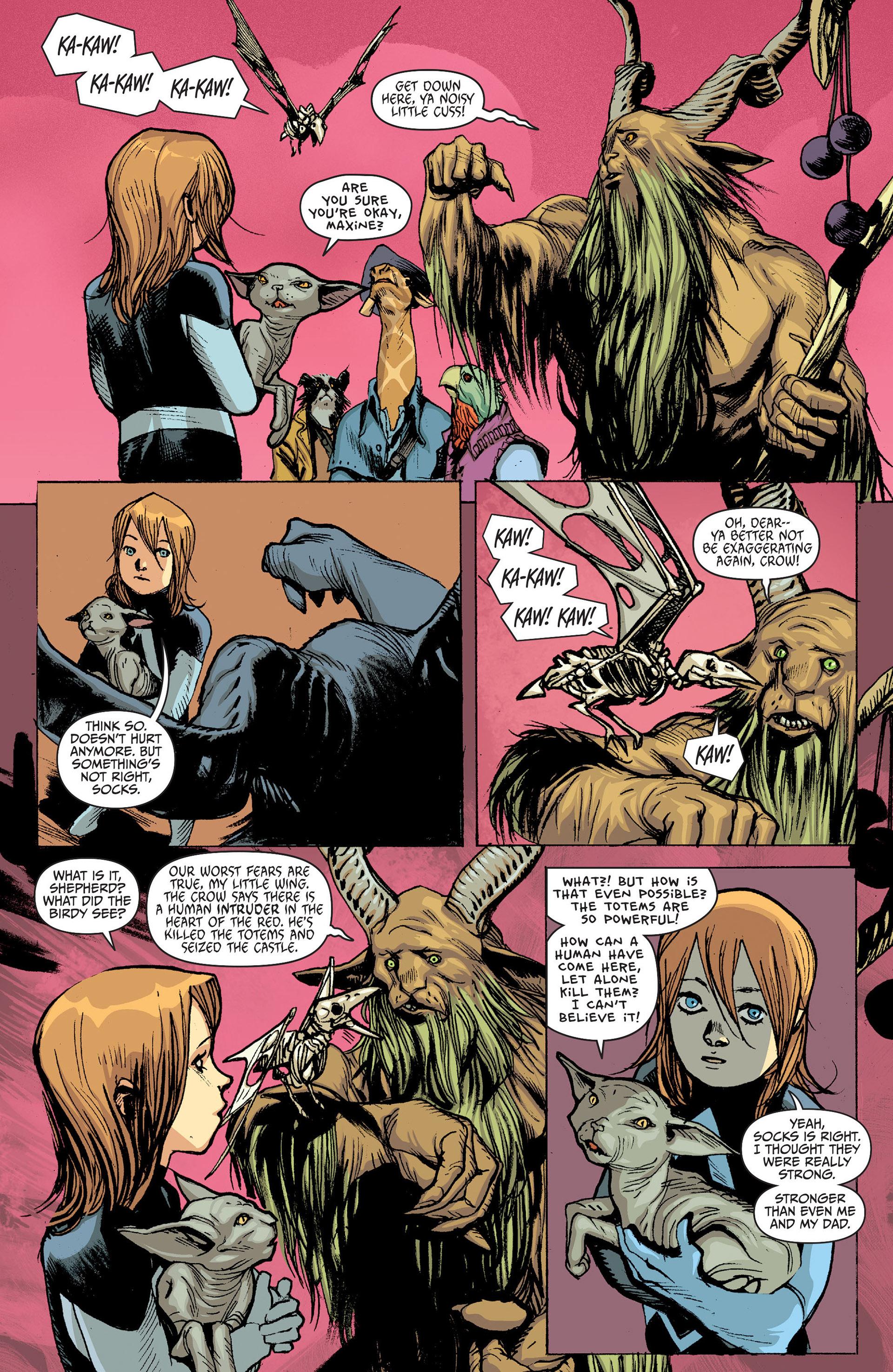 Read online Animal Man (2011) comic -  Issue #24 - 11