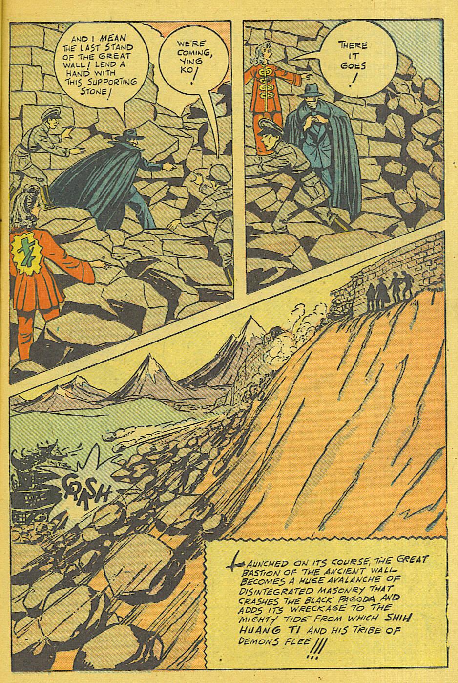 Read online Shadow Comics comic -  Issue #71 - 7