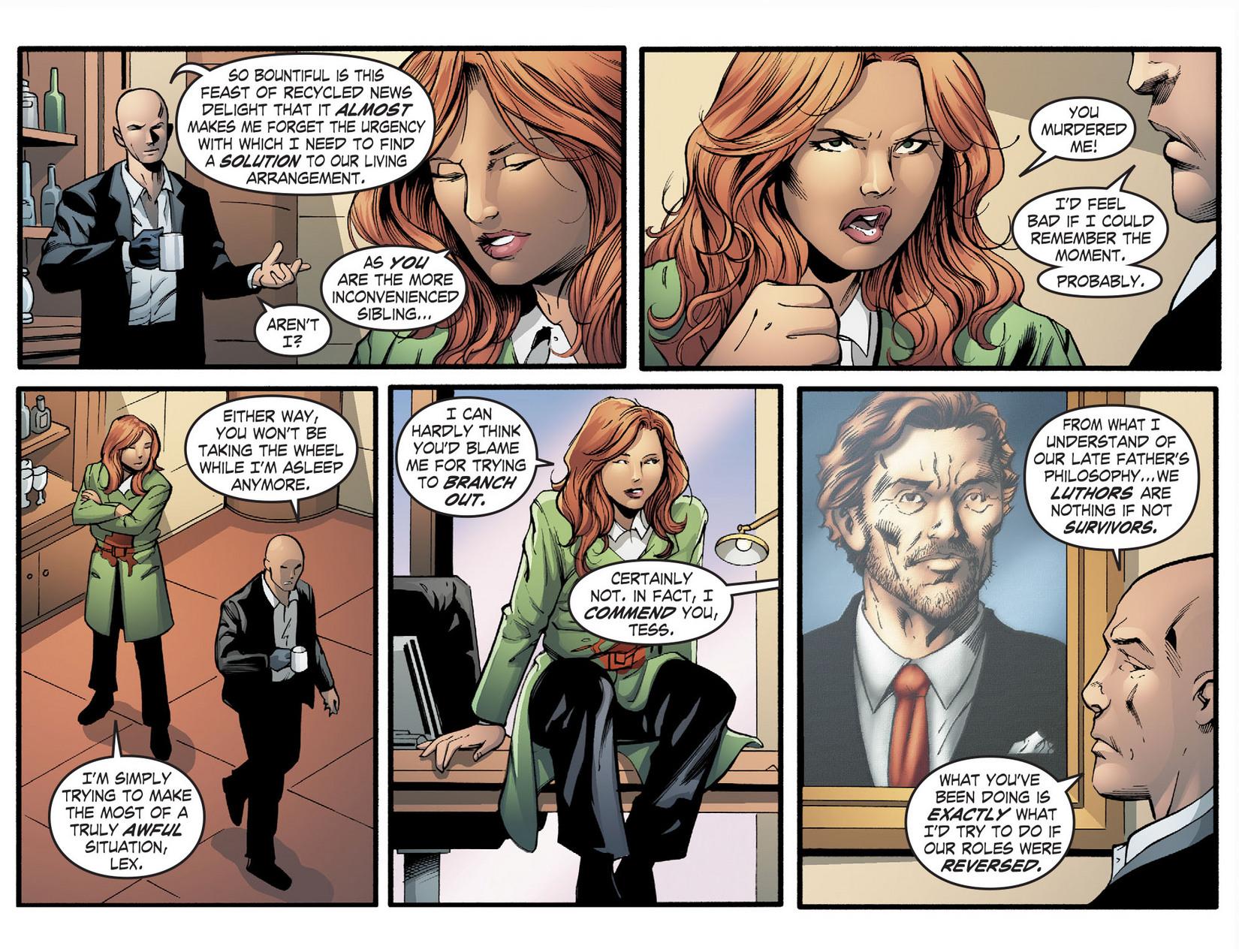 Read online Smallville: Season 11 comic -  Issue #22 - 5