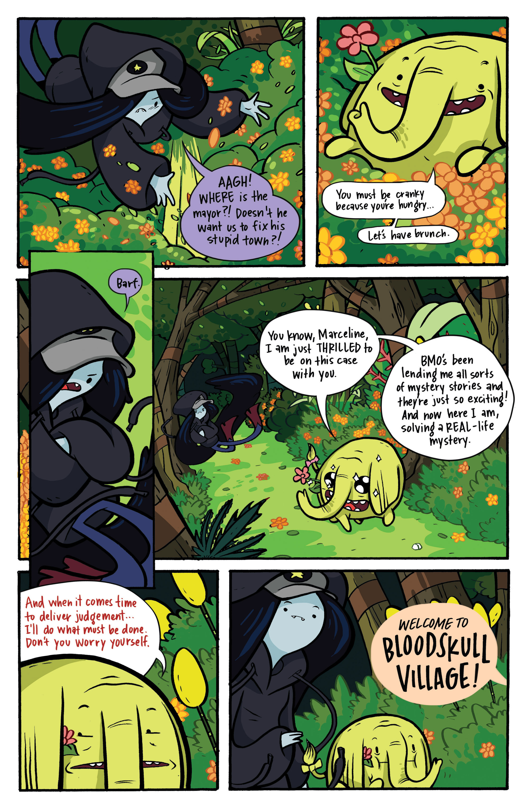 Read online Adventure Time: Candy Capers comic -  Issue #2 - 9