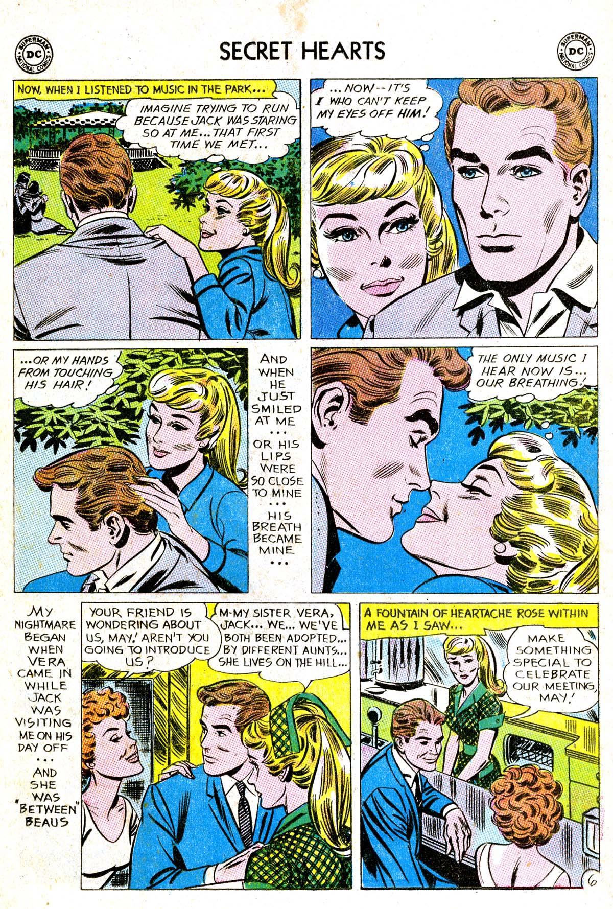 Read online Secret Hearts comic -  Issue #85 - 32