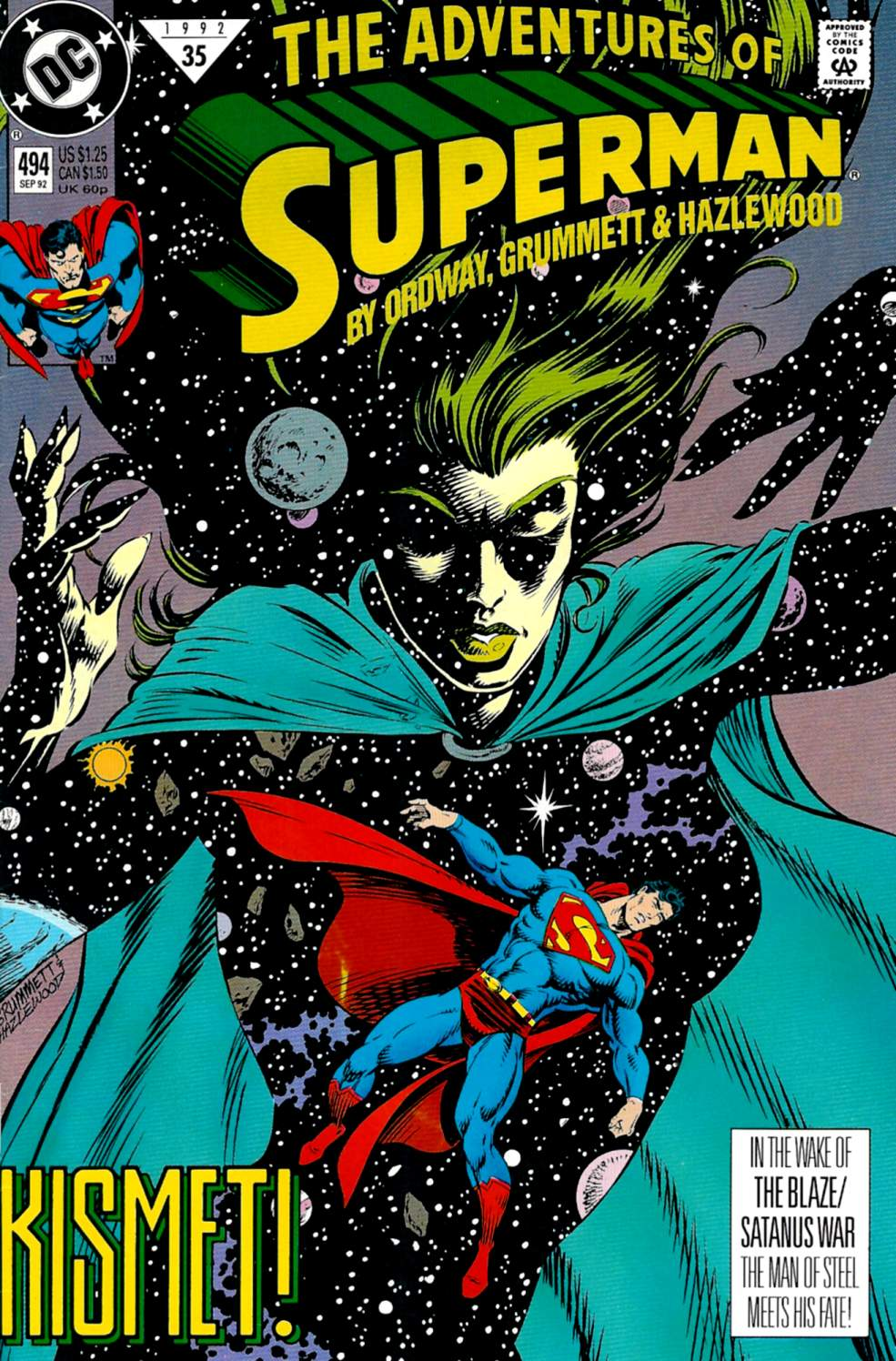 Read online Adventures of Superman (1987) comic -  Issue #494 - 1