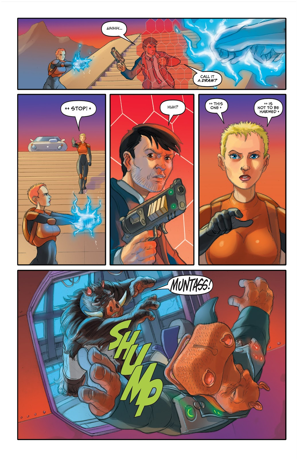 Read online Elephantmen 2261 Season Two: The Pentalion Job comic -  Issue # TPB - 77