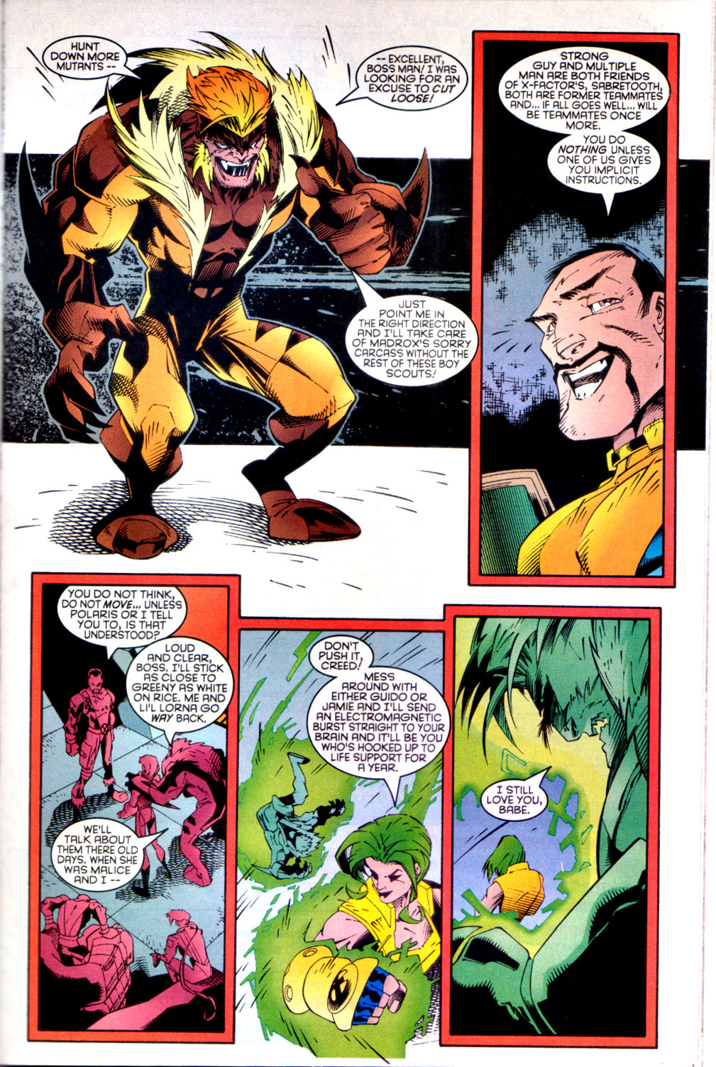 Read online X-Factor (1986) comic -  Issue #135 - 7