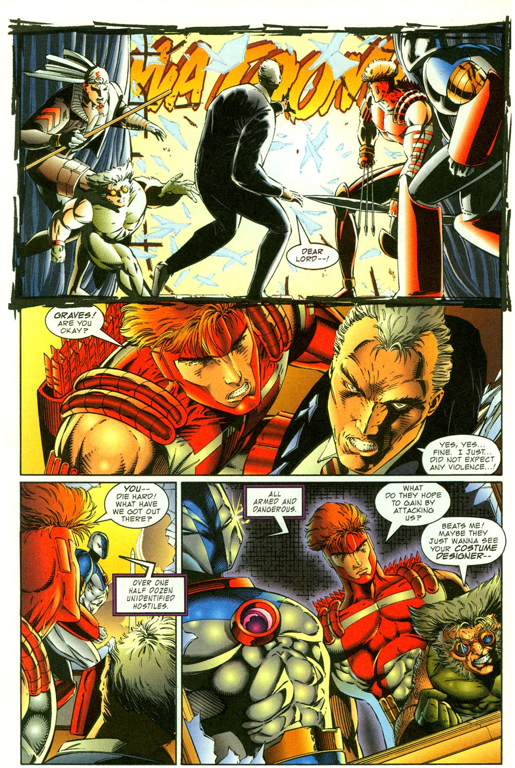 Read online Youngblood GT Interactive Ultra Game Players Special Edition comic -  Issue # Full - 12