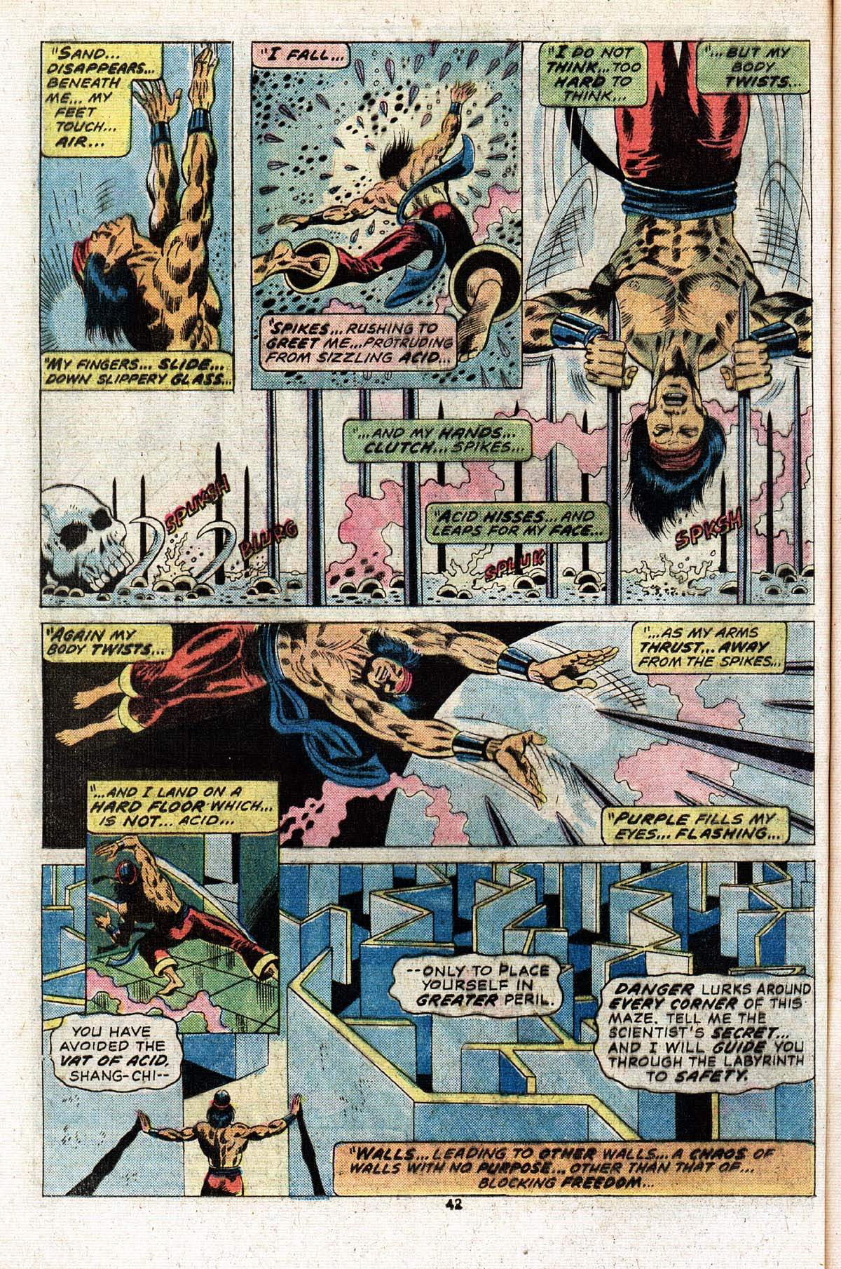 Read online Giant-Size Master of Kung Fu comic -  Issue #2 - 35