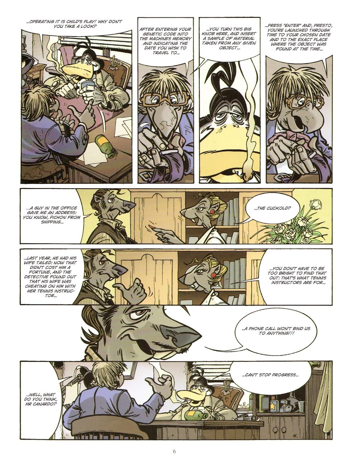 Une enquête de l'inspecteur Canardo issue 11 - Page 7