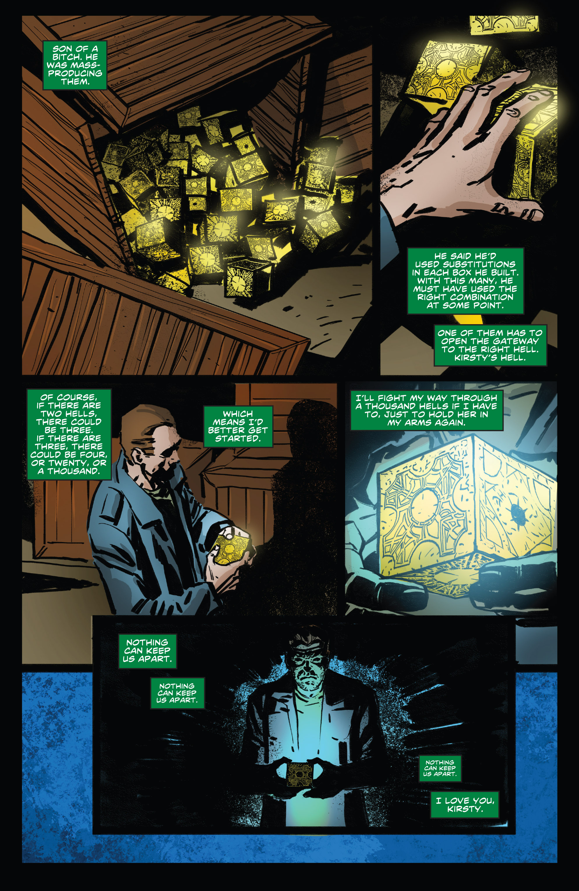 Read online Clive Barker's Hellraiser: The Dark Watch comic -  Issue # TPB 3 - 34