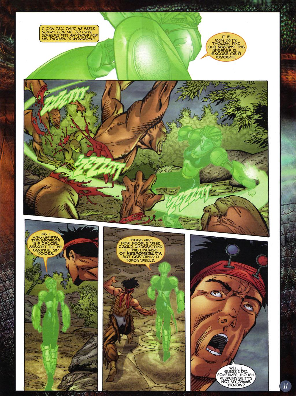 Read online Turok 2: Adon's Curse comic -  Issue # Full - 18