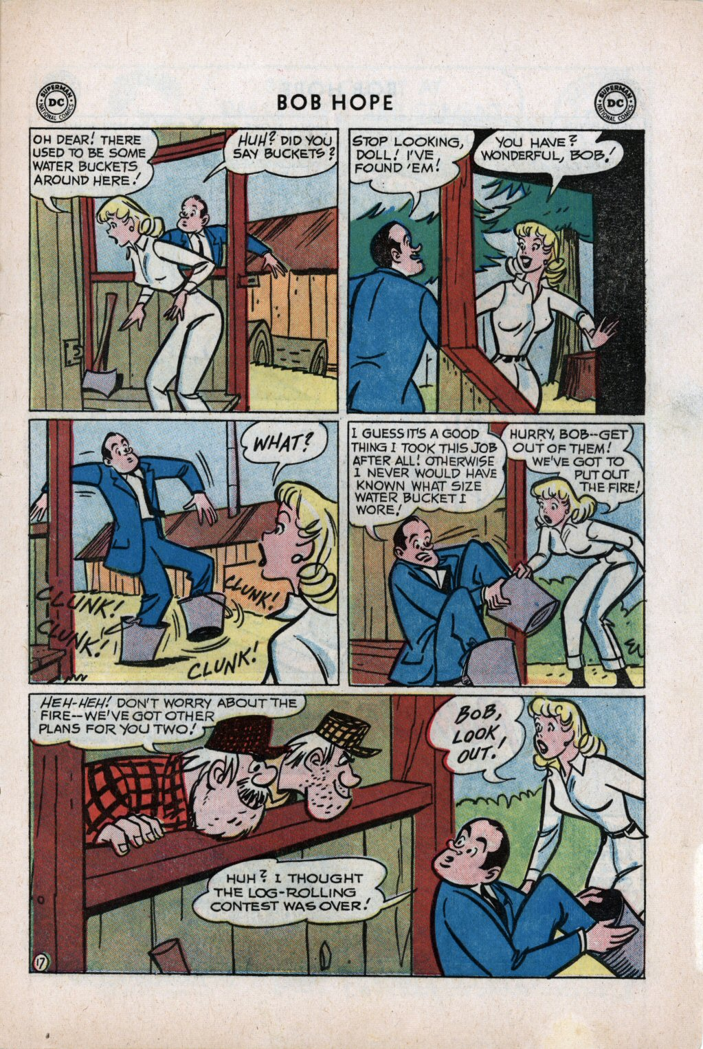 The Adventures of Bob Hope issue 59 - Page 21