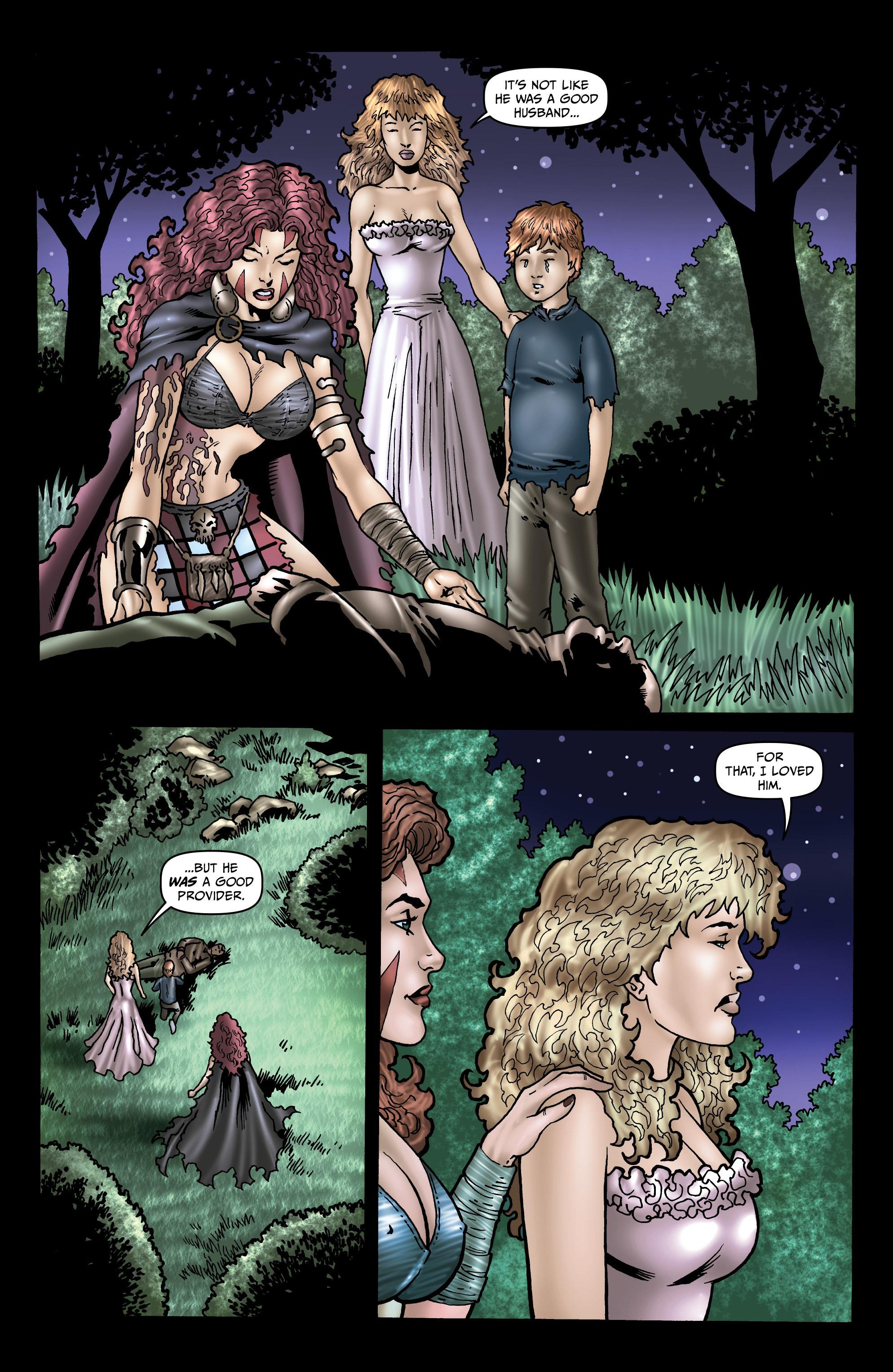 Read online Belladonna: Origins comic -  Issue #4 - 15