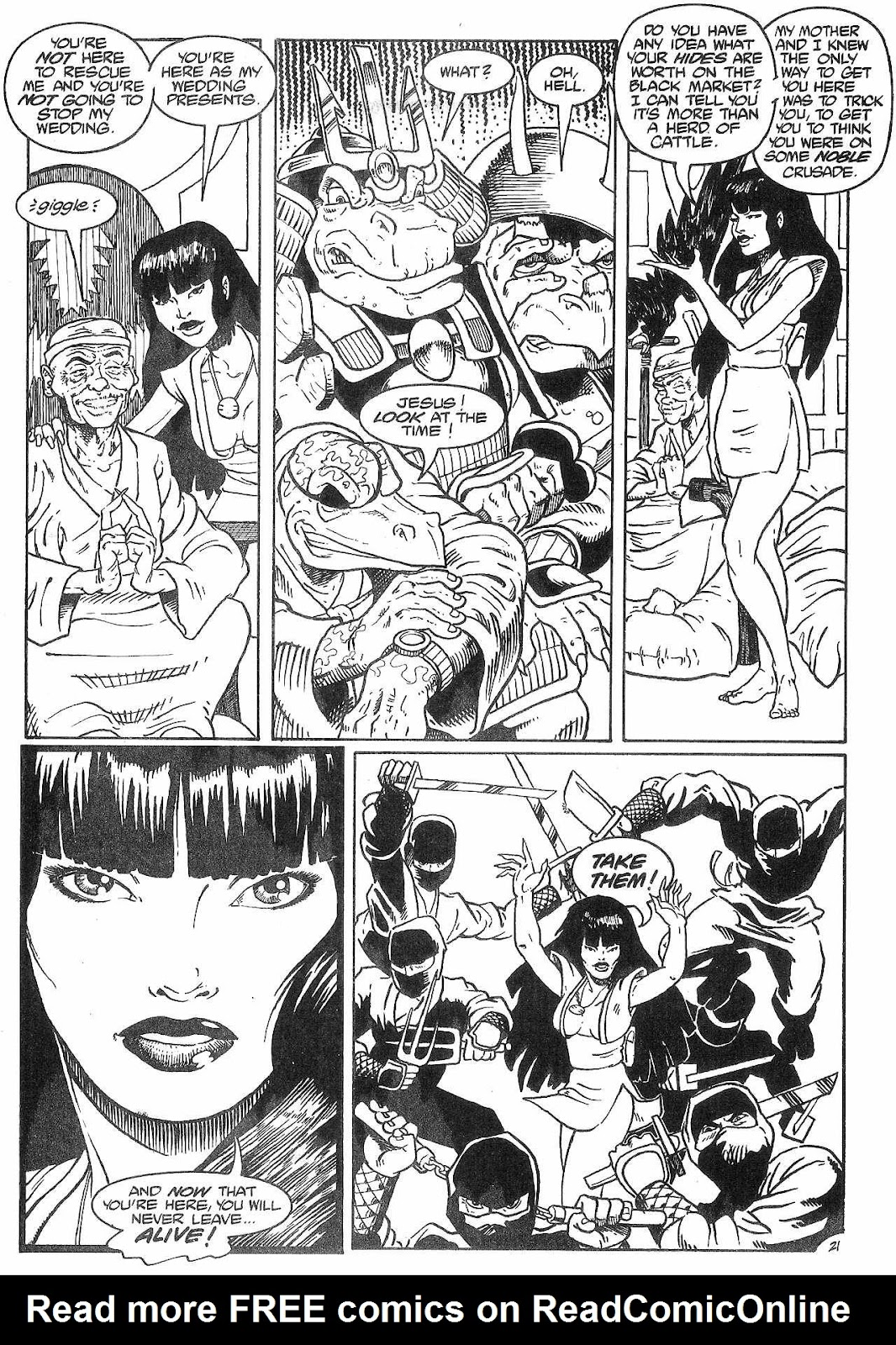 Dinosaurs For Hire (1988) issue 8 - Page 23