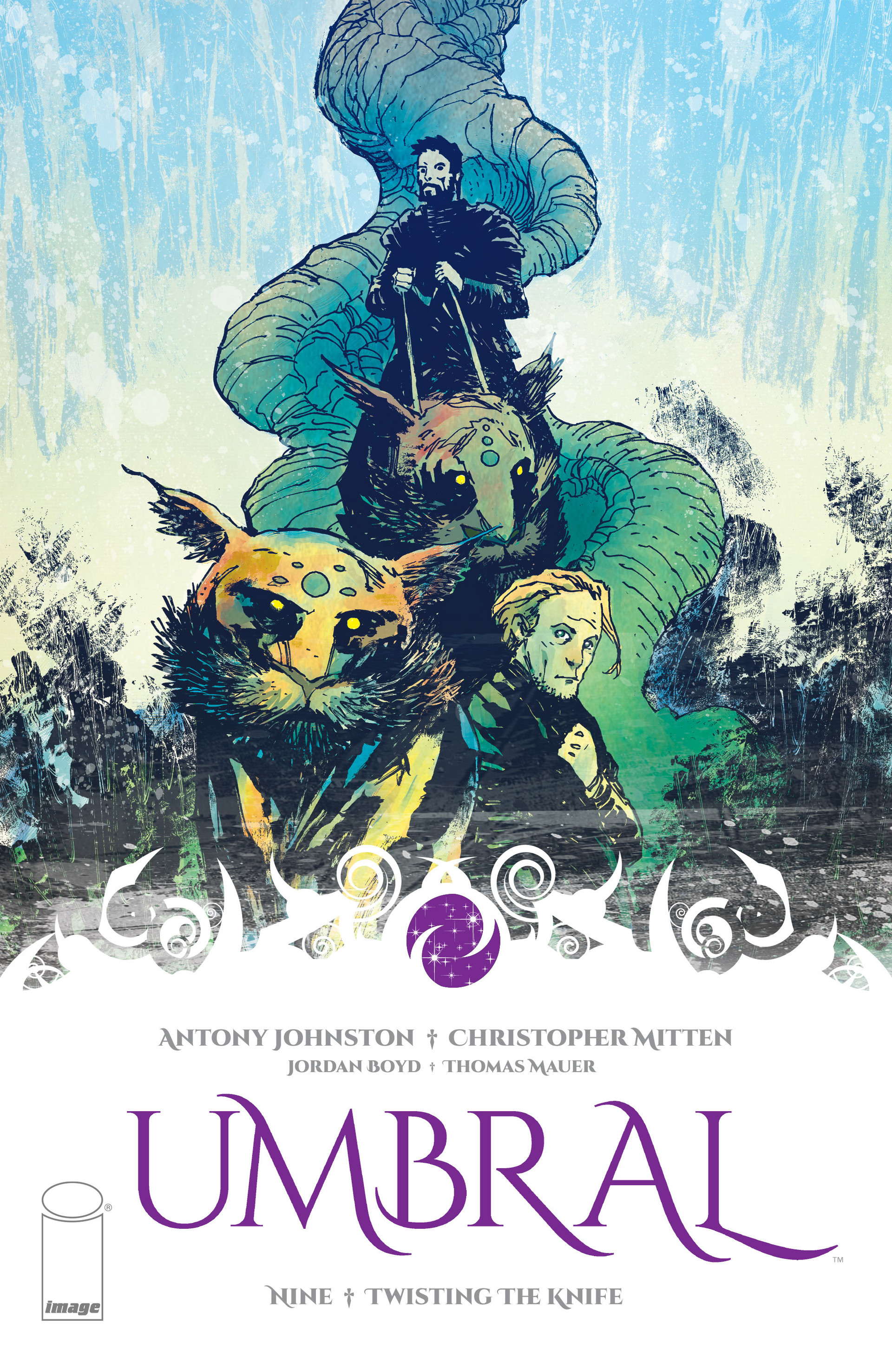 Read online Umbral comic -  Issue #9 - 1