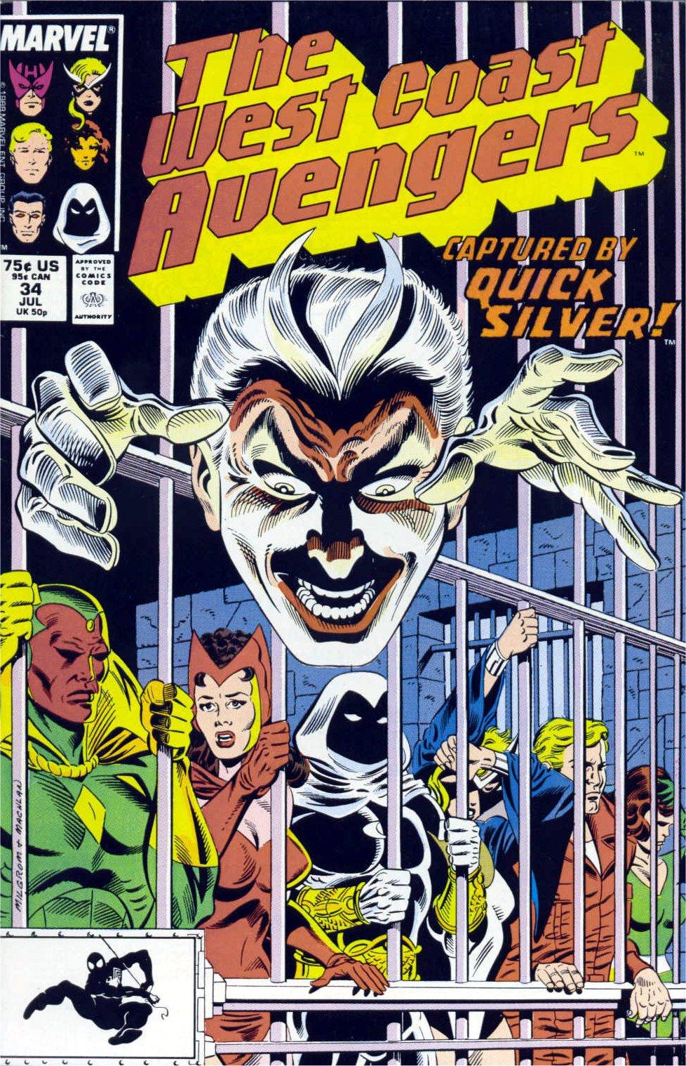 West Coast Avengers (1985) 34 Page 1