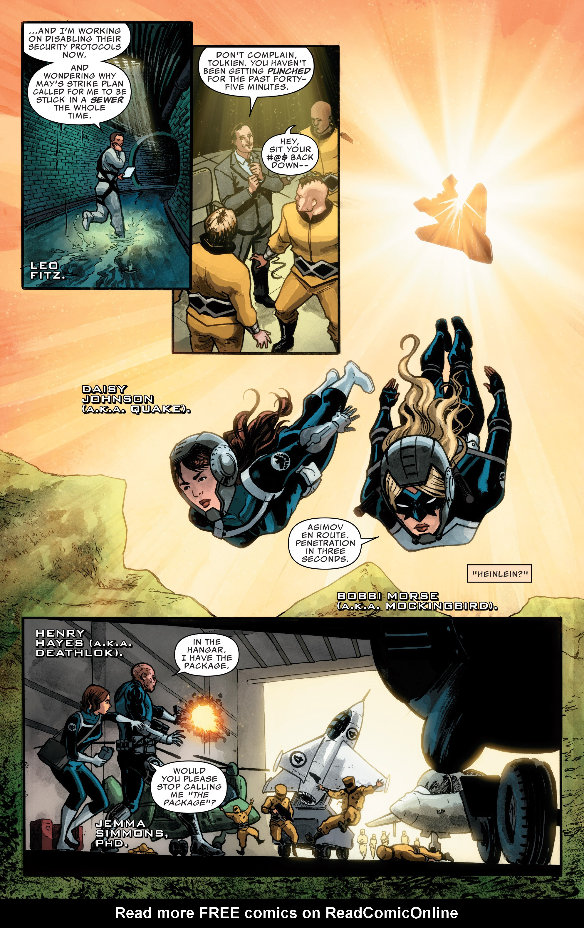 Read online Agents of S.H.I.E.L.D. comic -  Issue #1 - 8