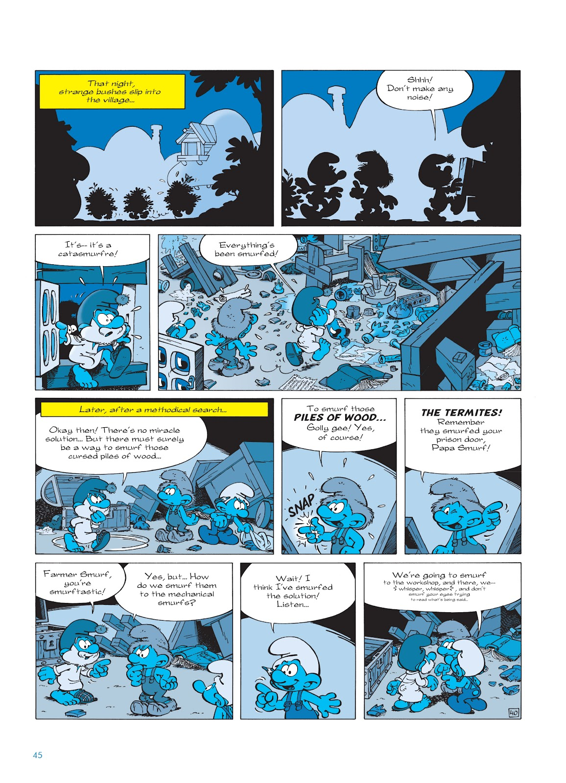 Read online The Smurfs comic -  Issue #23 - 45