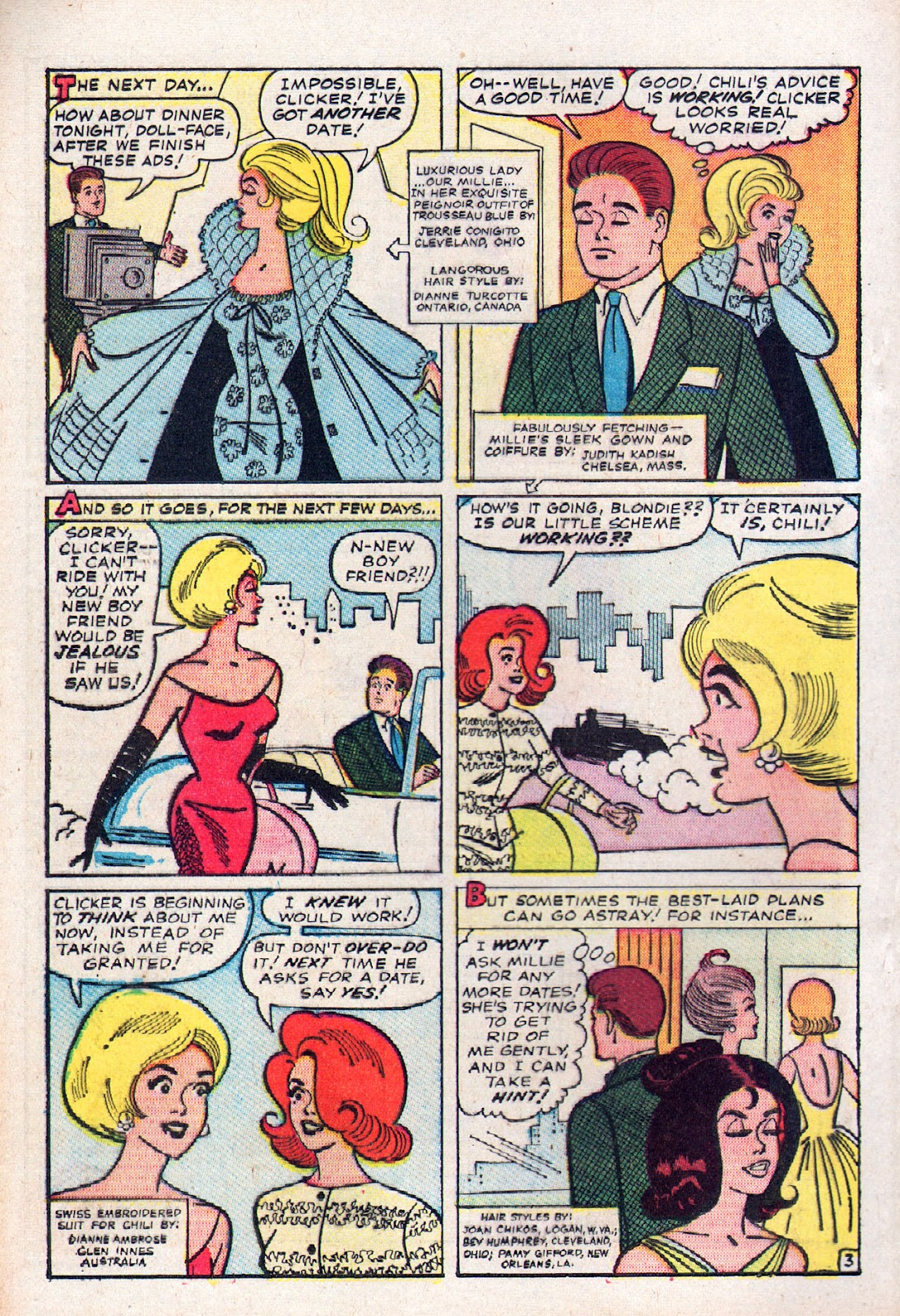 Read online Millie the Model comic -  Issue # Annual 2 - 70