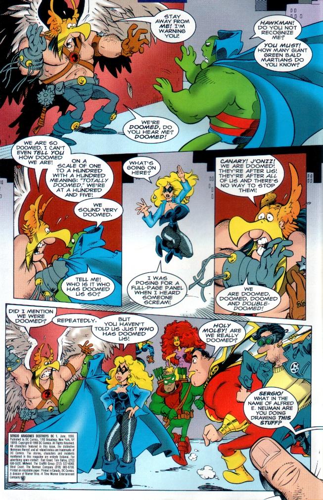 Read online Sergio Aragones Destroys DC comic -  Issue # Full - 3