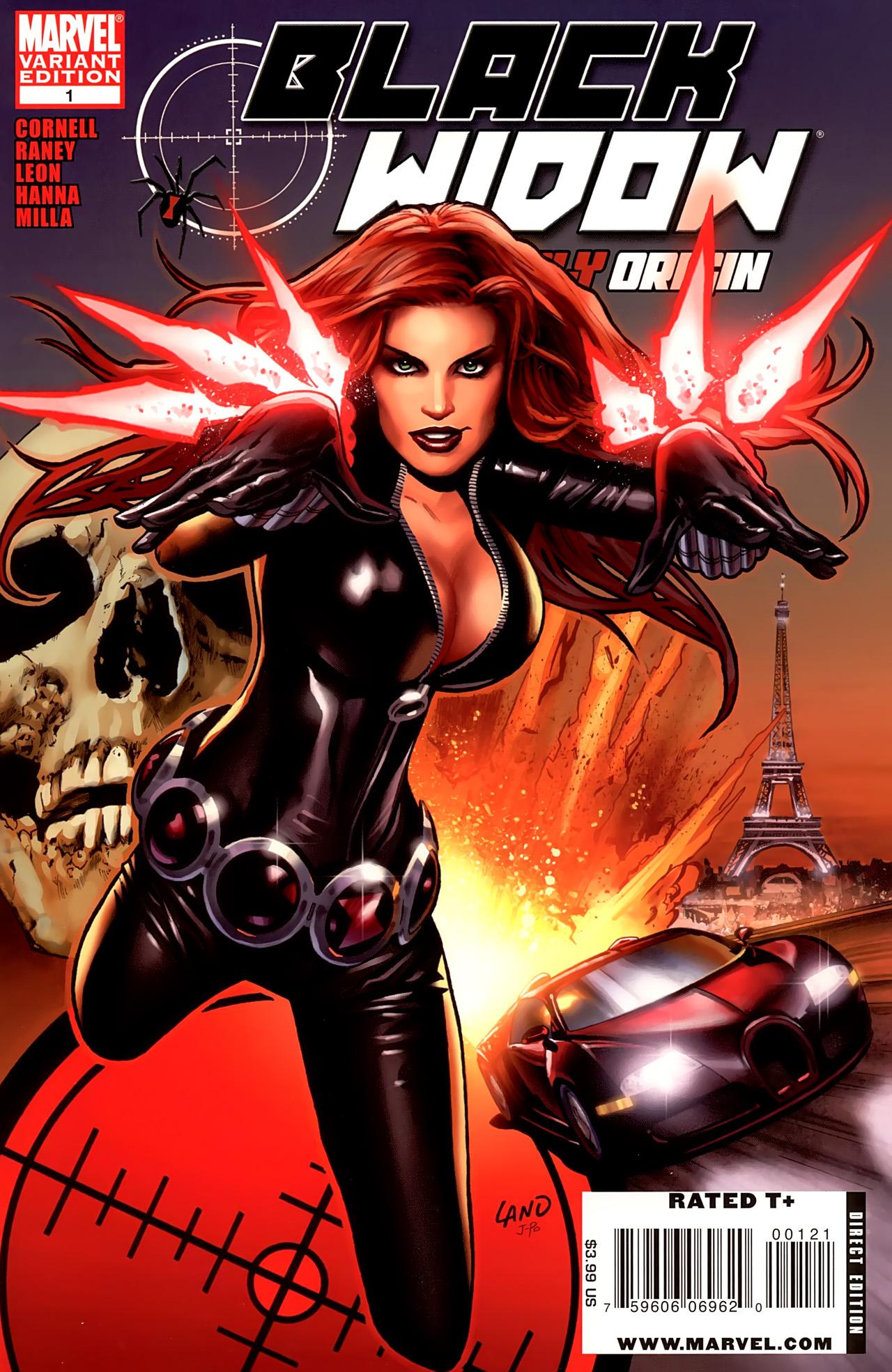 Black Widow: Deadly Origin 1 Page 1