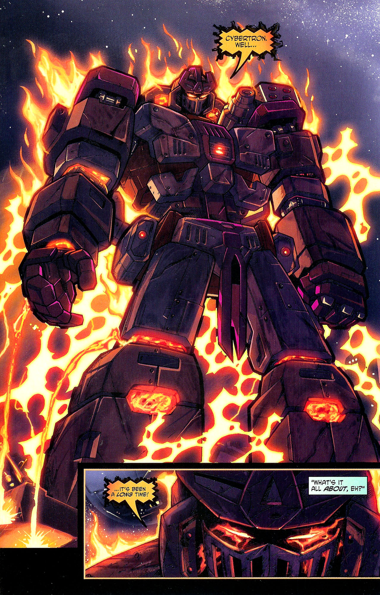 "Read online Transformers War Within: ""The Dark Ages"" comic -  Issue #1 - 8"