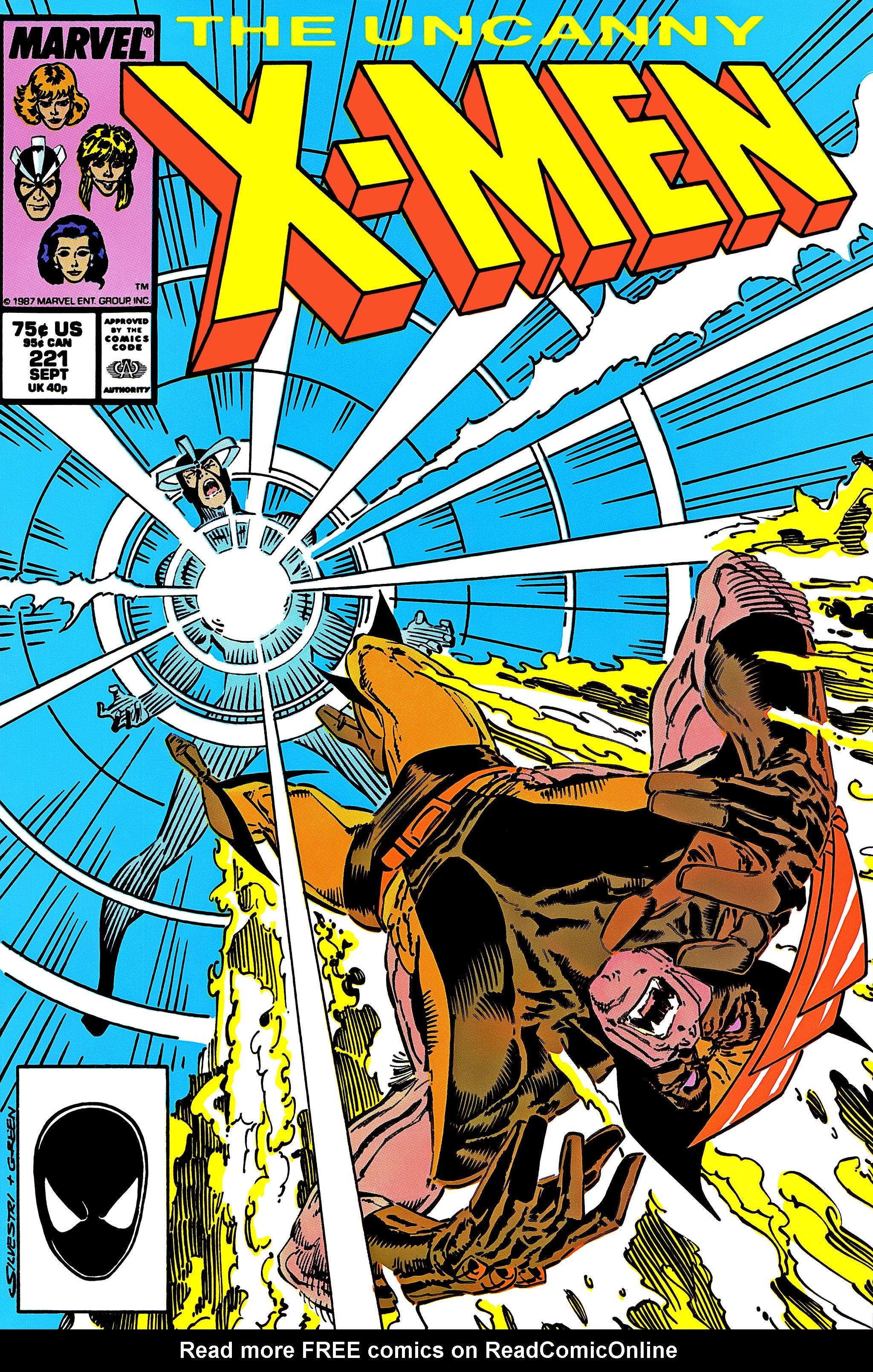 Uncanny X-Men (1963) 221 Page 1