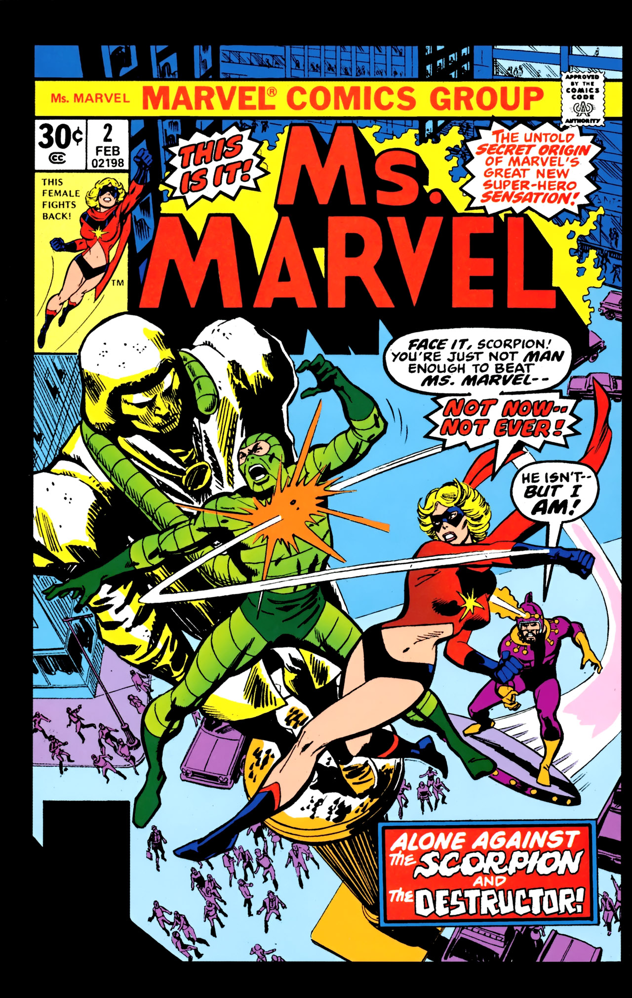 Read online Giant-Size Ms. Marvel comic -  Issue # Full - 55