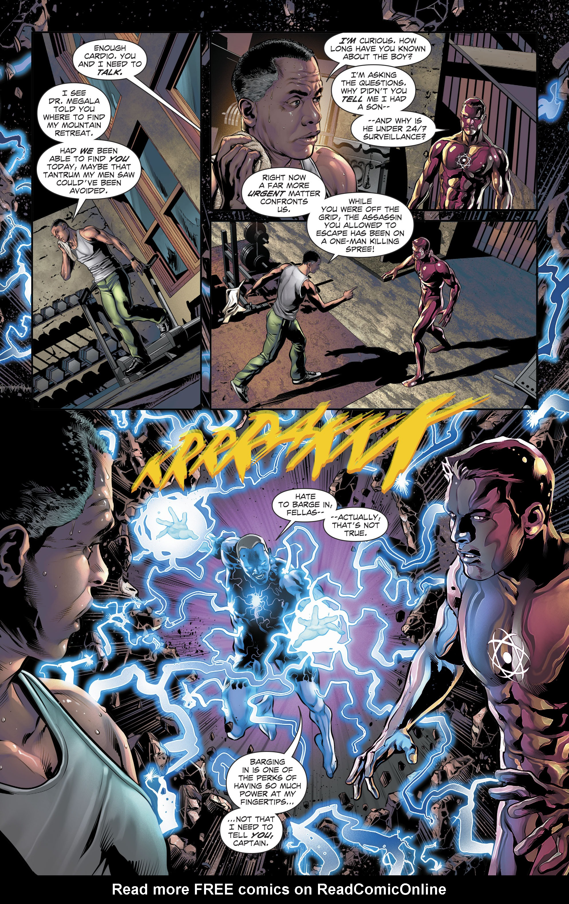 Read online The Fall and Rise of Captain Atom comic -  Issue #5 - 17