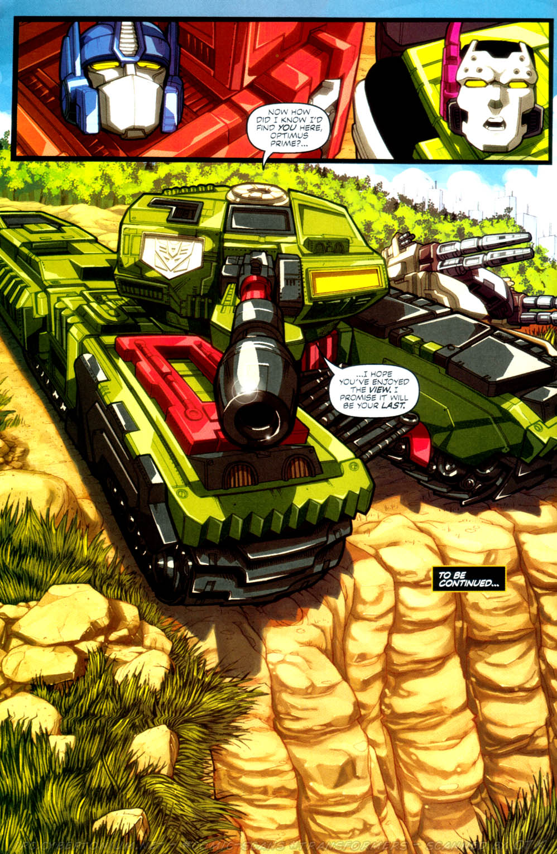 Read online Transformers Armada comic -  Issue #4 - 22