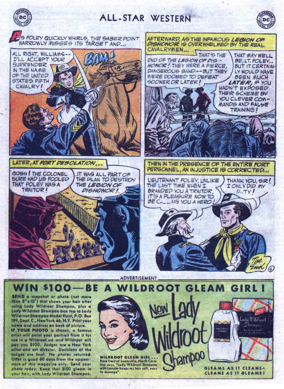 Read online All-Star Western (1951) comic -  Issue #69 - 24