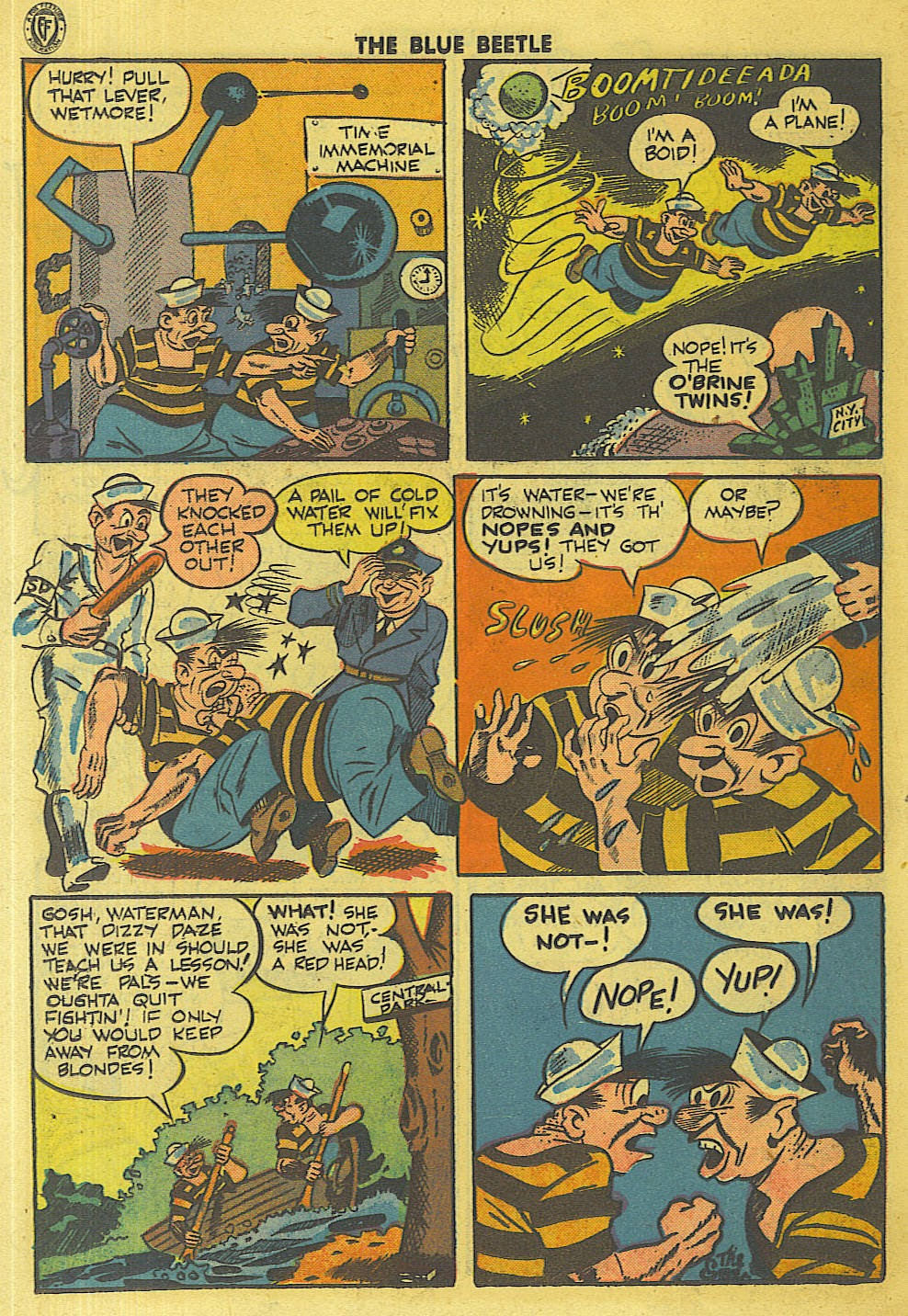 The Blue Beetle issue 35 - Page 35