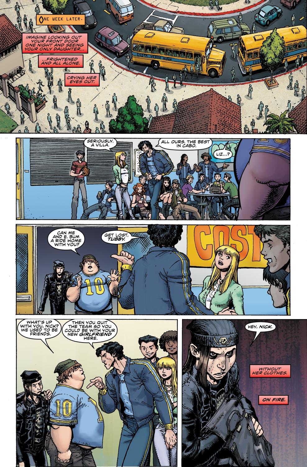 Read online Ultimate X comic -  Issue #4 - 11