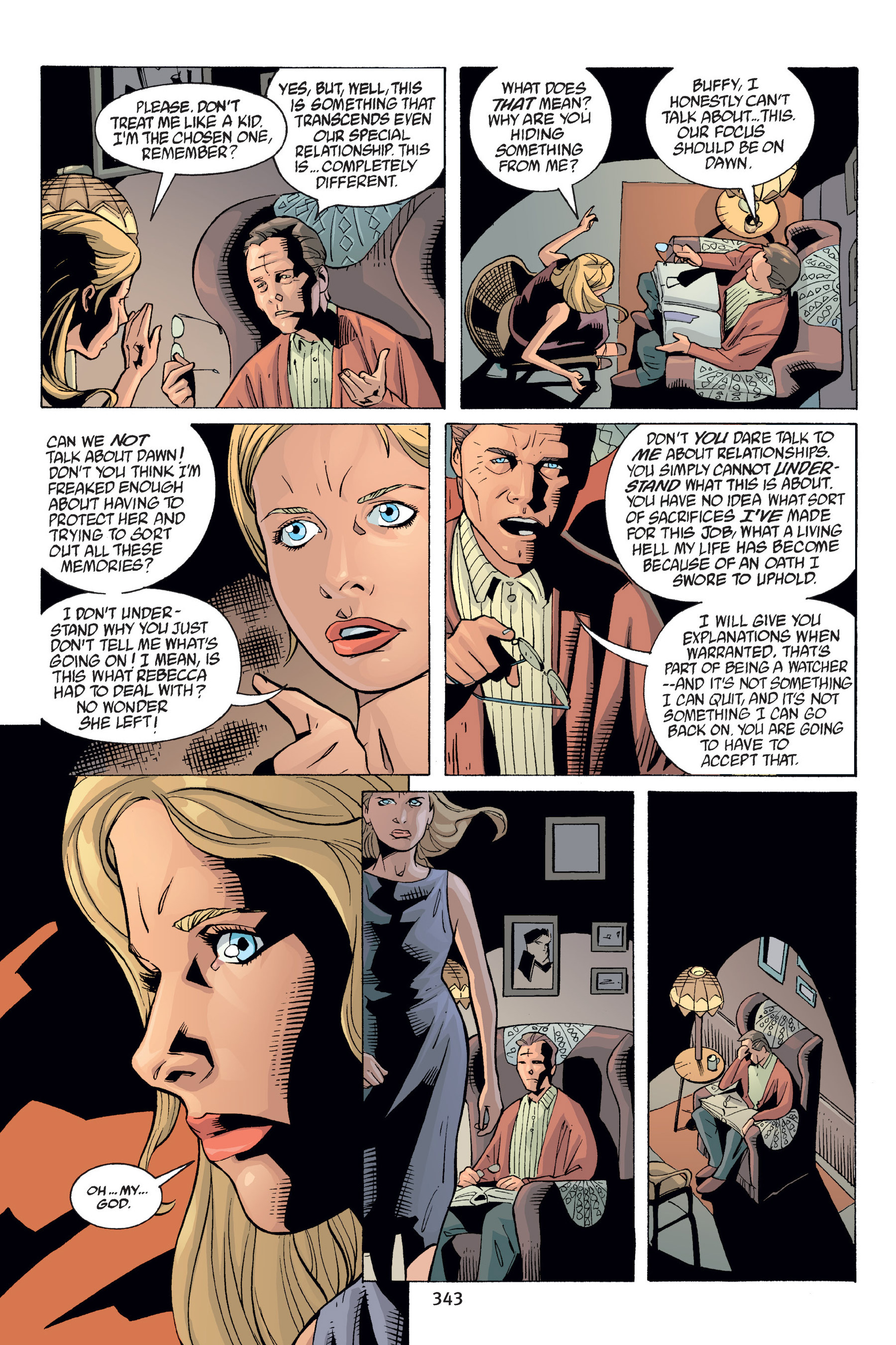 Read online Buffy the Vampire Slayer: Omnibus comic -  Issue # TPB 6 - 339