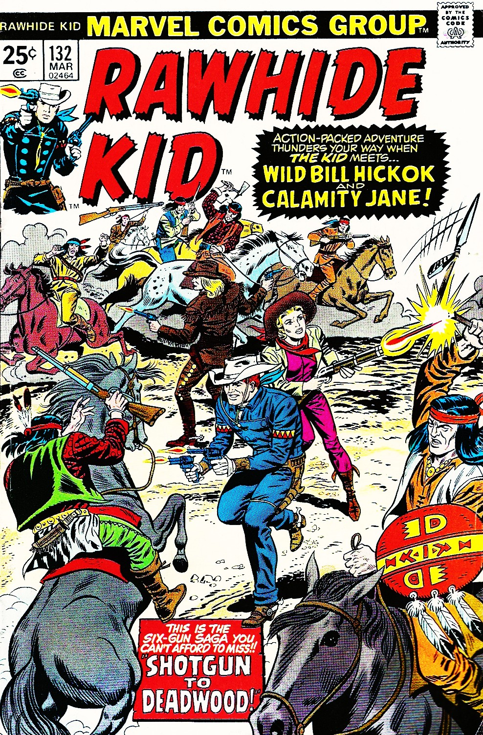 The Rawhide Kid (1955) issue 132 - Page 1