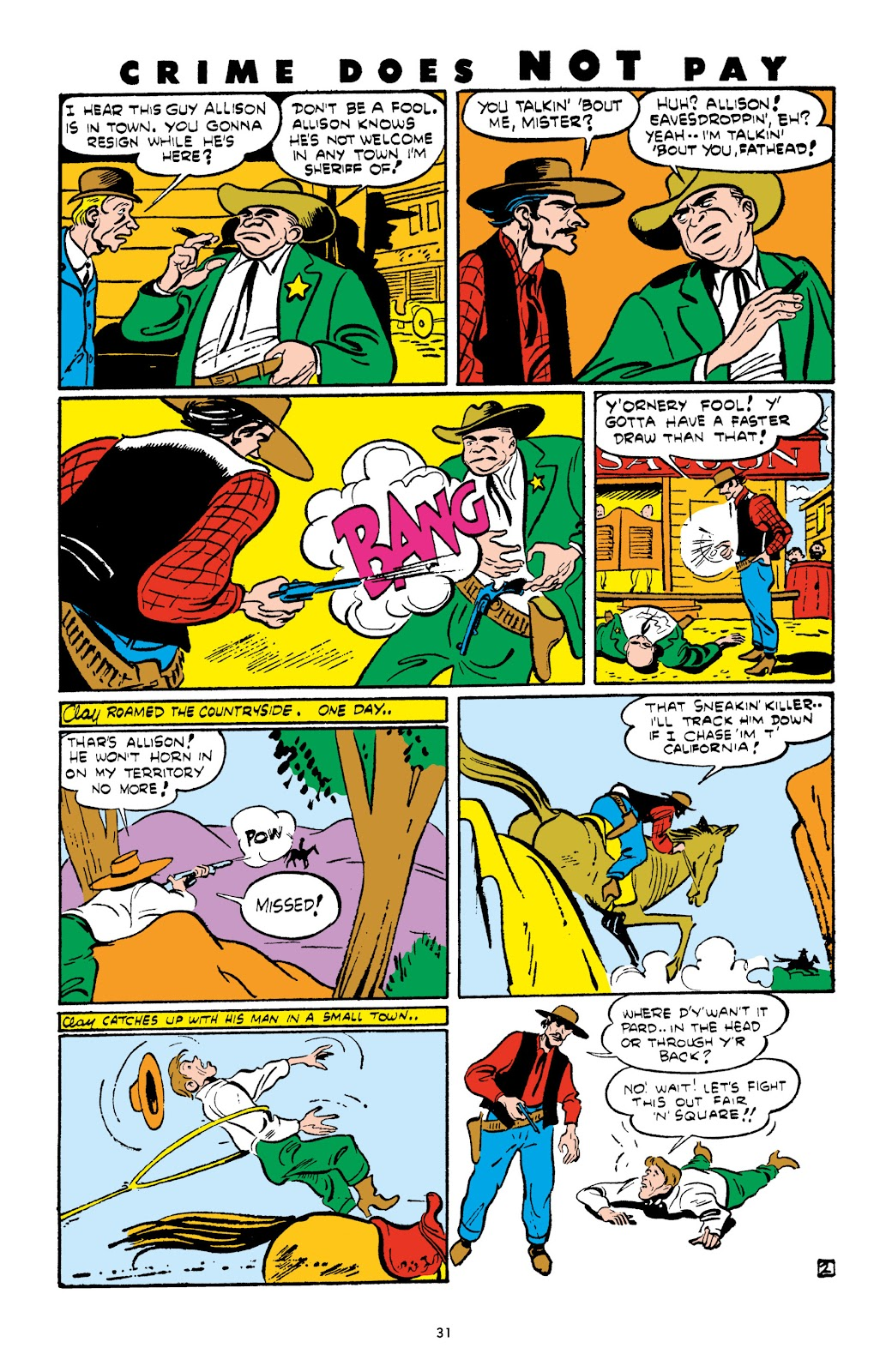 Read online Crime Does Not Pay Archives comic -  Issue # TPB 4 (Part 1) - 31