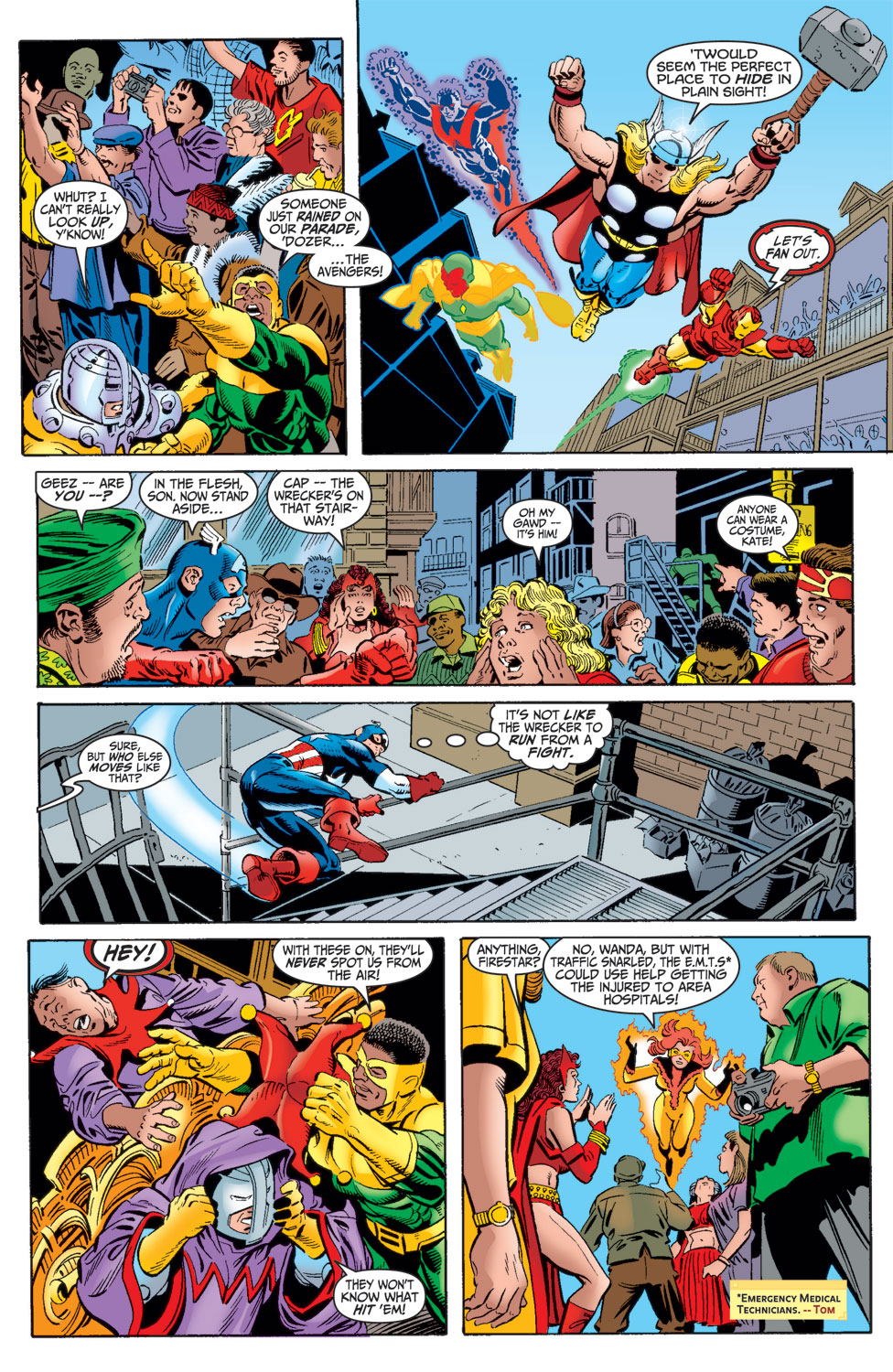 Read online Avengers (1998) comic -  Issue #16 - 13
